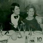 Michael and Grandma Mary at the Oak Room