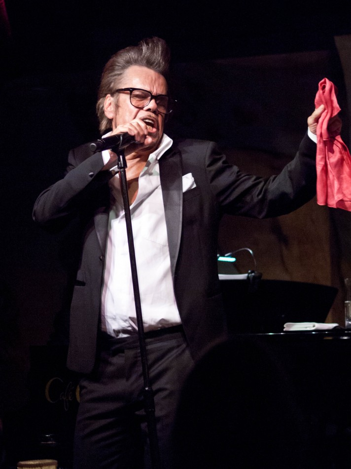 Buster Poindexter at Cafe Carlyle