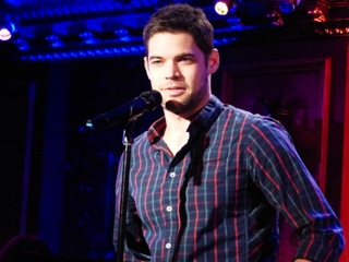 Jeremy Jordan will be 'Breaking Character' at 54 Below