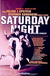 Sondheim's Saturday Night – Mufti Series York Theatre