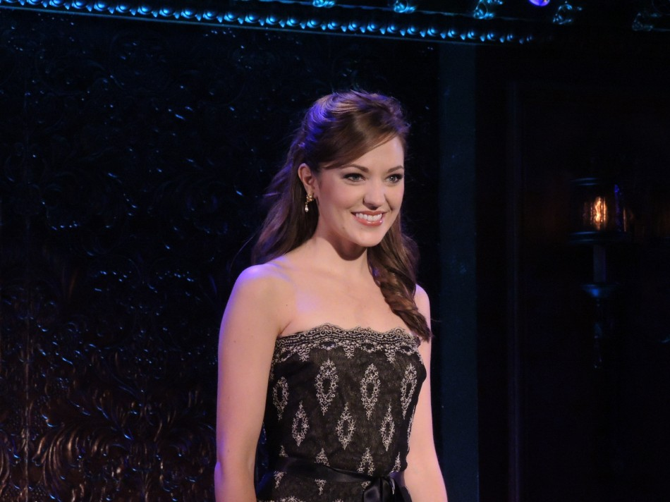 Laura Osnes Returns to 54 Below – The Paths Not Taken (video)