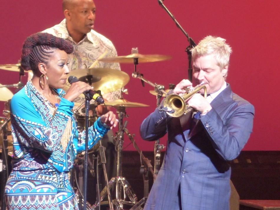 Legendary Trumpeter Chris Botti Rocks at NJPAC