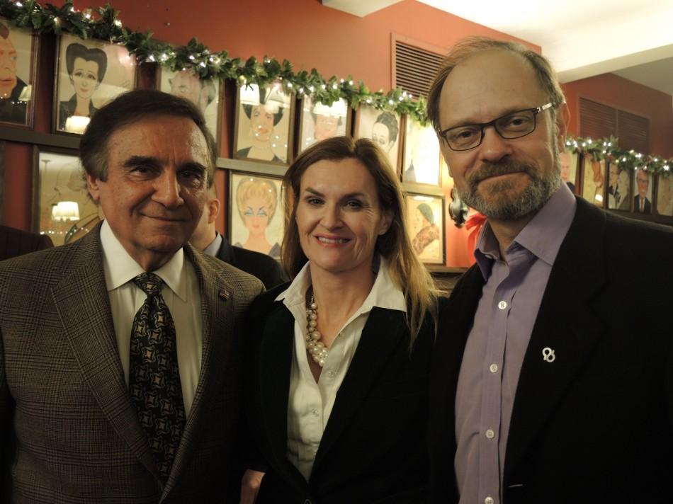 Broadway Association Hosts David Hyde Pierce, Tony Lo Bianco
