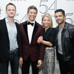 Neil Patrick Harris, David Burtka, Kelly Ripa, and Mark Consuelos