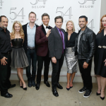 Jason Paige, Kate Reinders, Neil Patrick Harris, David Burtka, Seth Rudetsky, Kelly Ripa, Mark Consuelos, and Christina Hendricks