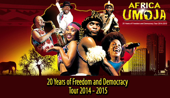Africa Umoja Freedom & Democracy Dance-Music-Theatre Tour