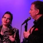 Dorothy Bishop with Bernie Furshpan (Photo: Neal Bennington)