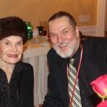 Jon with Edith Drake