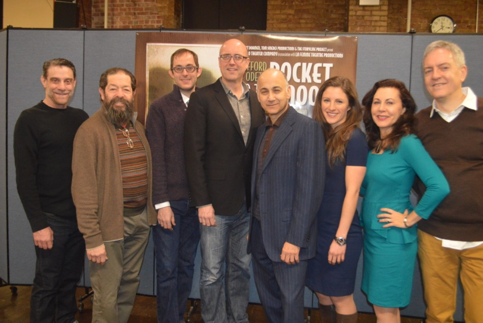 Meet the Cast of Odets' Rocket to the Moon