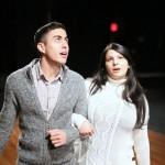 Rafael Albarrán and Amanda Ríos Nieves