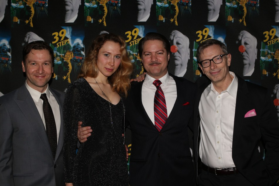 "2-Time Tony Award ""39 Steps"" Celebrates Opening Nite"