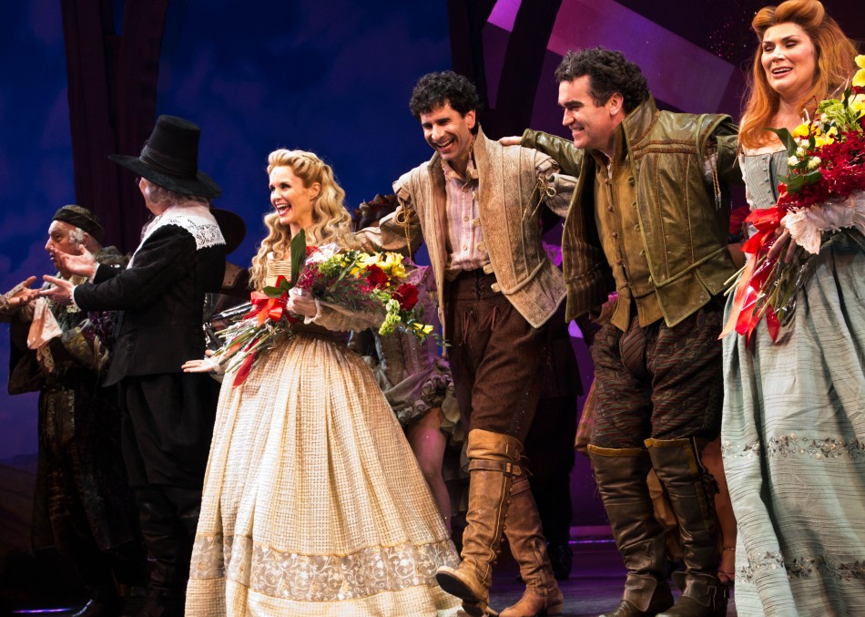 Something Rotten Opens at St. James Theater (photos)