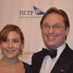 Richard Thomas with daughter Kendra (Honorary Chair)