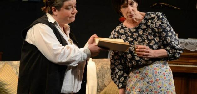 Polly McKie as Gertrude Stein and PennyLynn White as Alice B. Toklas