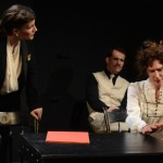 Kristen Gehling as Margo Jones, Paul Thomas Ryan as Tennessee Williams and PennyLynn White as Laurette Taylor