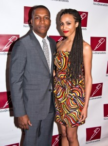Leslie Odom Jr + Nicolette Robinson