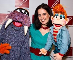 Stephanie d'Abruzzo + puppets