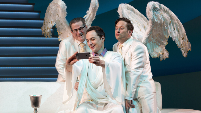 "Jim Parsons is ""God"" in 'an Act of God'"