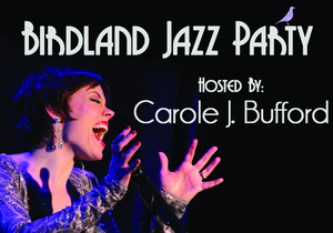 Carole J. Bufford Takes Flight at Birdland Jazz Party