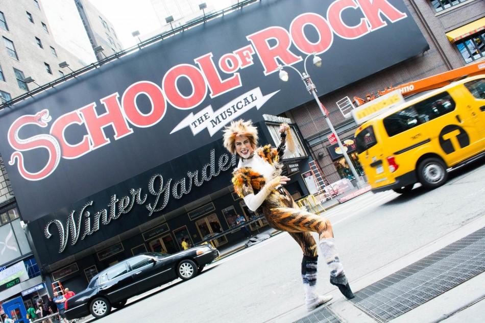 Webber's School of Rock Will Live at Cats' Winter Garden