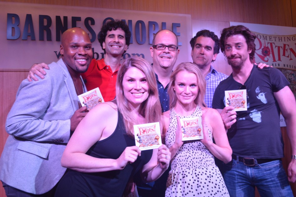 Cast of Something Rotten! CD Signing at B&N