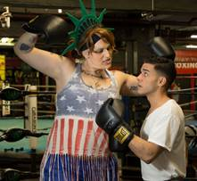 Manuel vs. The Statue of Liberty NYMF
