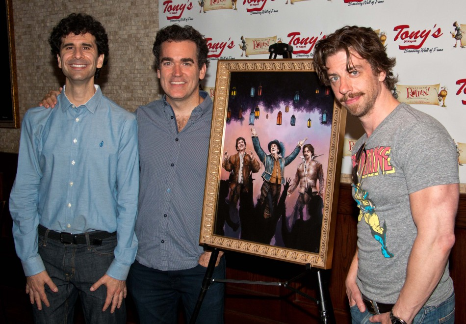 Something Rotten Portrait Unveiled at Tony's DiNapoli