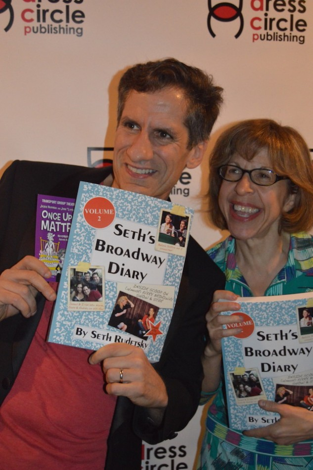 Seth Rudetsky's Broadway Diary Volume 2 and Lots of Stars