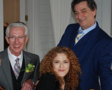 Bernadette Peters Attends RUTHLESS! Wedding