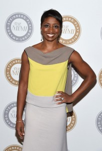 Montego Glover attends the 2015 Steinberg Playwright Awards