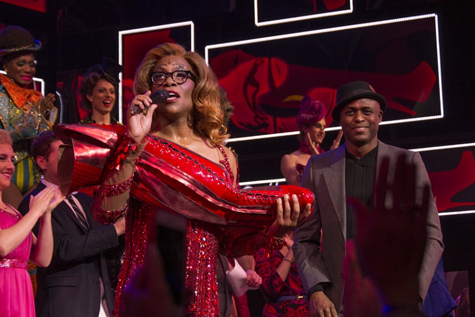 "Billy Porter Says ""Bye"" to Kinky Boots"