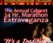 Metropolitan Room 24 Hr. Marathon Kicks Off 2016 – It's a Tradition!