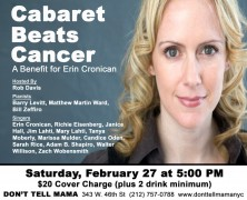 Cabaret Beats Cancer