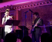 Tor and Lisa at Feinstein's/54 Below