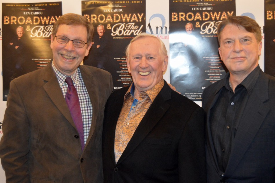 Opening Night – Broadway and the Bard with Len Cariou