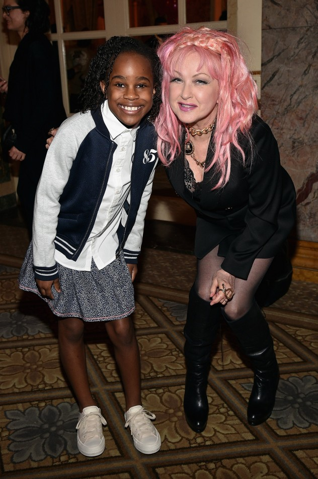 Bobbi MacKenzie and Cyndi Lauper