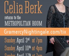 "Celia Berk To Celebrate ""Manhattan Serenade"" at Metropolitan Room"