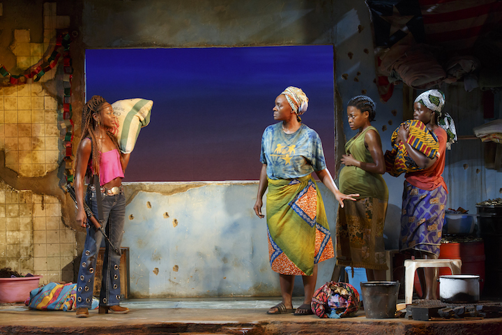 ECLIPSED PLAY ORIGINAL JOHN GOLDEN THEATRE 252 W. 45TH ST. toggle menu Large Logo John Owen Jones - Homepage Extra John Owen Jones - Homepage Extra toggle search form LATEST VAULT SHOWS JOBS DISCOUNTS TRAVEL LATEST NEWS RELATED An Exclusive Look at London's Hand to God Opening Watch Stephen Colbert Dance Into Fiddler on the Roof (For One Night Only) Intiman Theatre Puts Black Female Writers Center Stage Steve Kazee to Star in Nancy Drew Spinoff Michael Polish Picked to Direct Mamet's Speed-the-Plow Film Last Undeveloped Theatre on 42nd Street Gets New Tenant 52 NEW STORIES ECLIPSED - CAST Person Placeholder Lupita Nyong'o as The Girl Pascale Armand Pascale Armand as Bessie Person Placeholder Akosua Busia as Rita Person Placeholder Zainab Jah as Maima Saycon Sengbloh Saycon Sengbloh as Helena Person Placeholder Ayesha Jordan as The Girl (Standby) ECLIPSED - PRODUCTION CREDITS Danai Gurira Danai Gurira Playwright Person Placeholder Liesl Tommy Director Person Placeholder Clint Ramos Scenic & Costume Design Person Placeholder Jennifer Schriever Lighting Design Person Placeholder Broken Chord Original Music and Sound Design Person Placeholder Cookie Jordan Hair, Wig and Make-up Design Person Placeholder Cookie Jordan Hair, Wig & Make-up Design Kyle Brown Kyle Brown Associate Director Person Placeholder Ryan Howell Associate Scenic Designer Person Placeholder Christopher Vergara Associate Costume Designer Person Placeholder Ben Green Associate Lighting Designer Person Placeholder Michael Prieto Associate Sound Designer Person Placeholder TJ Weaver Assistant Director Person Placeholder Aurora Productions Production Management Person Placeholder Diane DiVita Production Stage Manager Person Placeholder Gwendolyn M. Gilliam Stage Manager Rick Sordelet Rick Sordelet Fight Director Christian Kelly-Sordelet Christian Kelly-Sordelet Fight Director Beth McGuire Beth McGuire Voice and Dialect Beth McGuire Beth McGuire Voice & Dialect Coach Person Placeholder Jordan Thaler Casting 