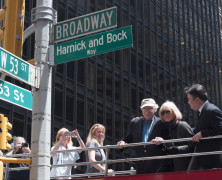 Harnick & Bock Way – 53rd Street & Broadway (Photos)