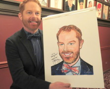Jesse Tyler Ferguson Joins the Ranks of Celebs on Sardi Walls