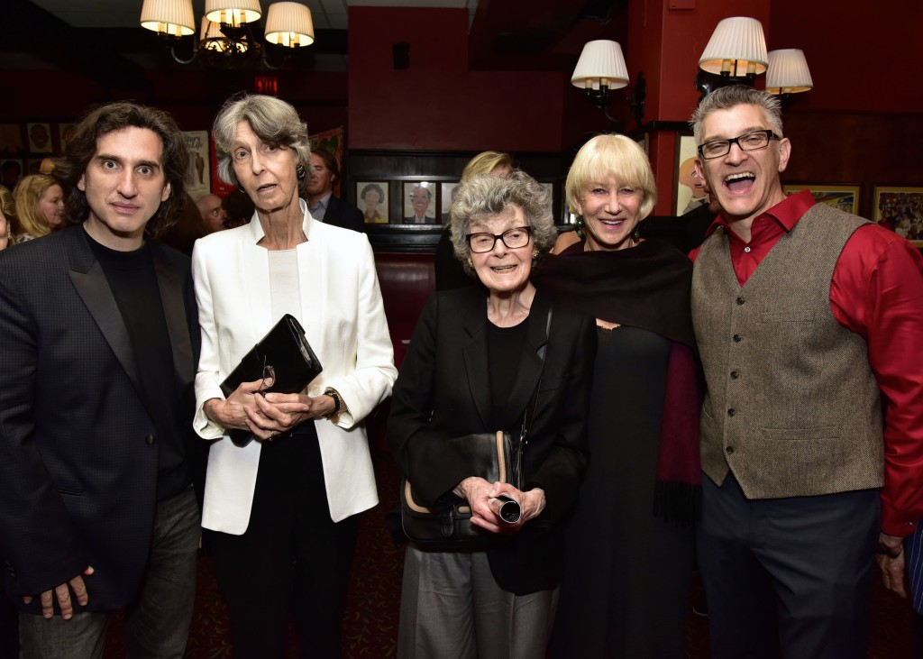 NEW YORK, NY - JUNE 06: Hershey Felder, Elizabeth Peters, Linda Louise Emmet and Trevor Hay attend the Hershey Felder As Irving Berlin At The Town Hall, NYC - June 6 on June 6, 2016 in New York City. (Photo by Eugene Gologursky/Getty Images for Hersehey Felder)