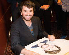 Alex Brightman Caricature Now on Sardi's Famous Walls