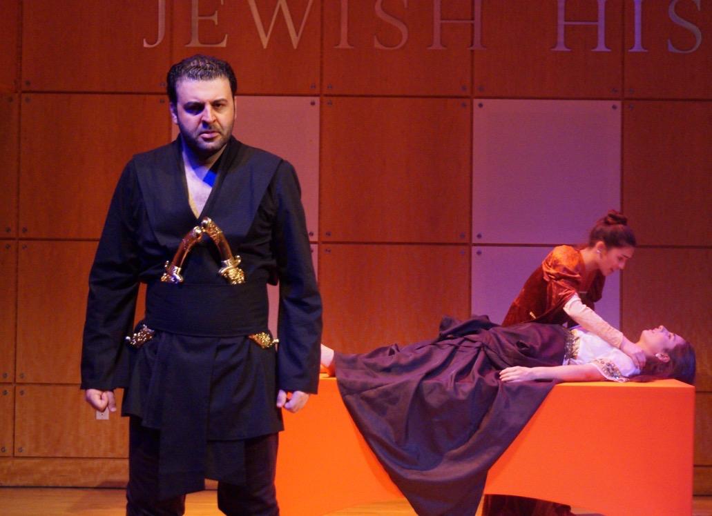 International Operatic Baritone, David Serero, Unveils NYC's First Moroccan Othello