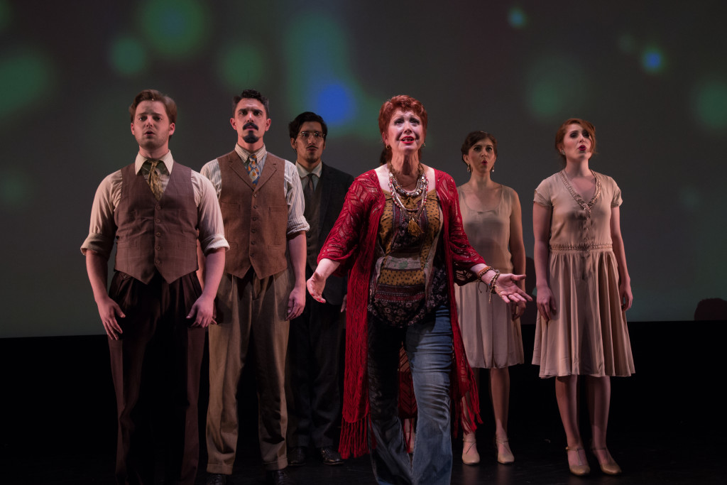 Tony Award-winner Donna McKechnie with the Cast of ICON - Shira Friedman Photography