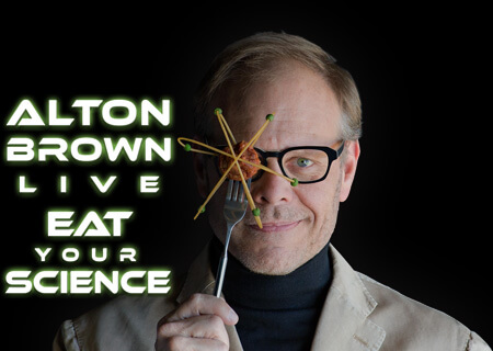Alton Brown Live: Eat Your Science is Coming to Broadway