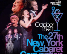 27th NY Cabaret Convention Coming to Lincoln Center