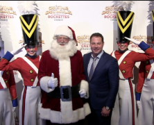 Rockettes Kick Off Christmas Spectacular on 6th Avenue