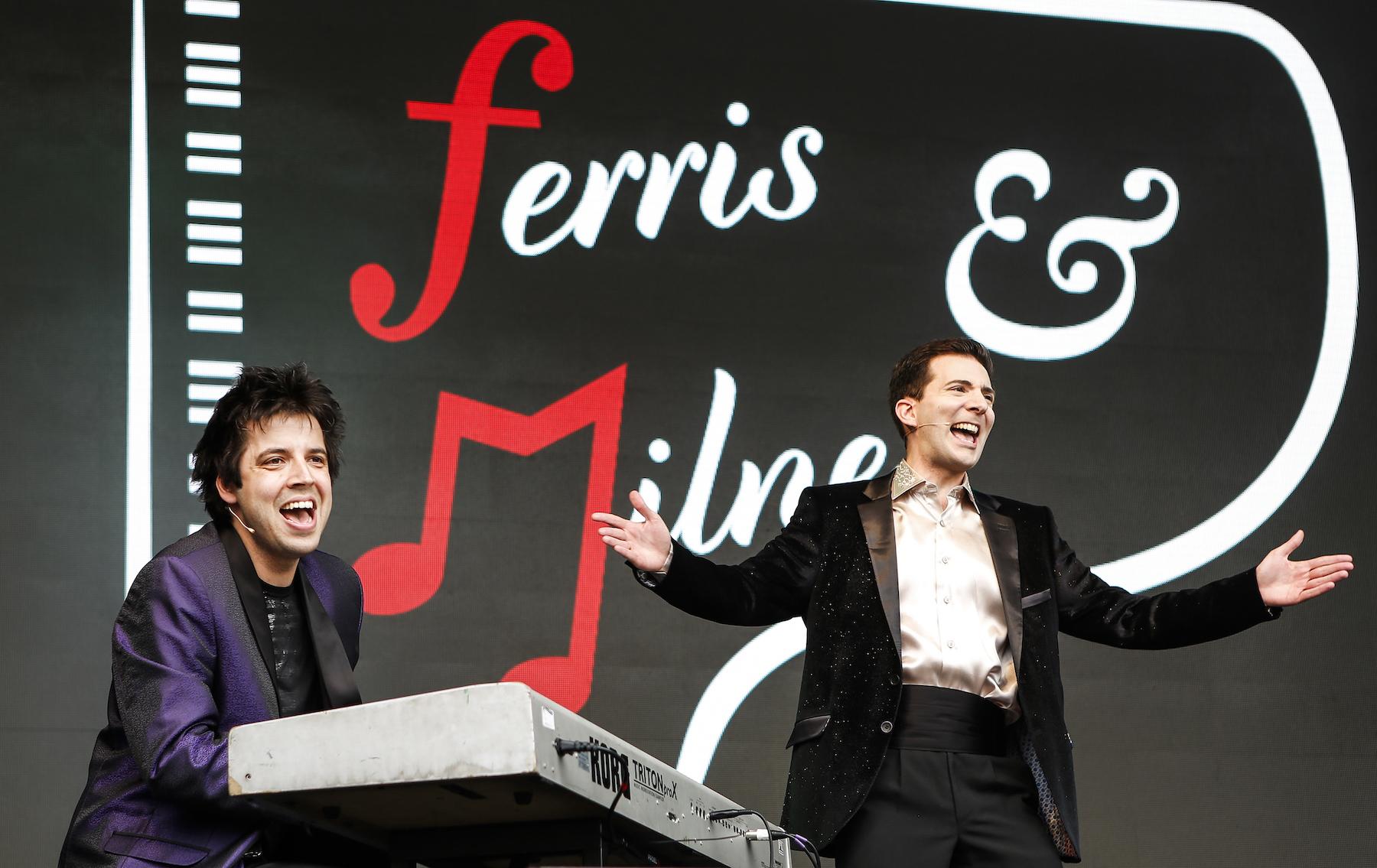 Ferris & Milnes:The British Are Coming! The British Are Coming!