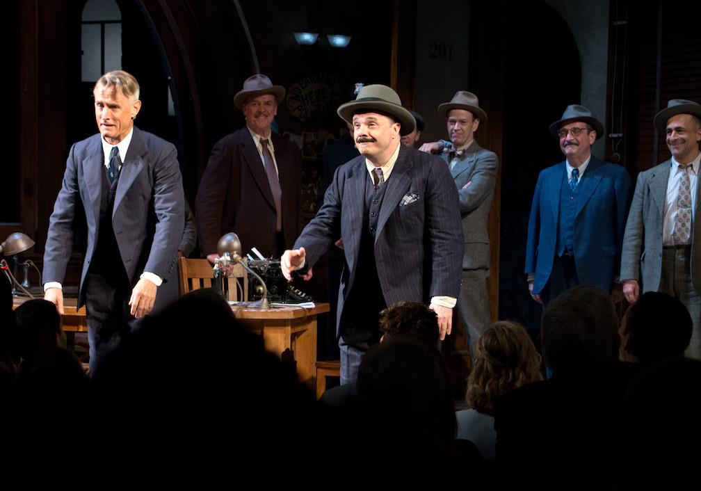 The Front Page – Opening Night Photos