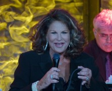 Lainie Kazan Acts Through Her Cold